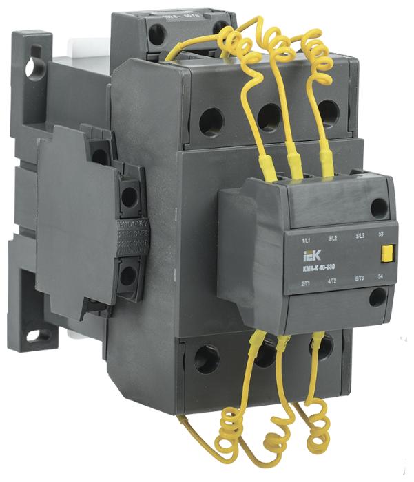 Магнитный пускатель (контактор) для емкостной нагрузки IEK KKMK-45-230-01
