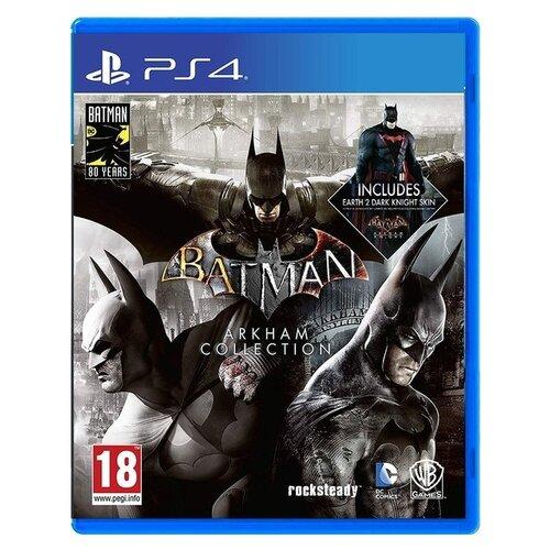 Игра для PlayStation 4 Batman. Arkham Collection, русские субтитры