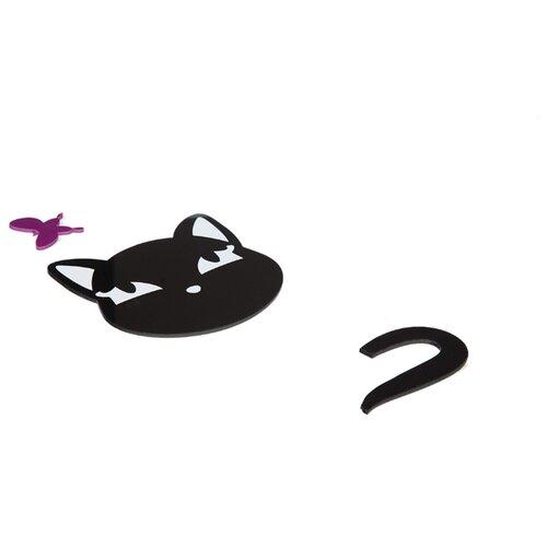 Наклейка на выключатель DS Studio Кошка Алёна, объемная
