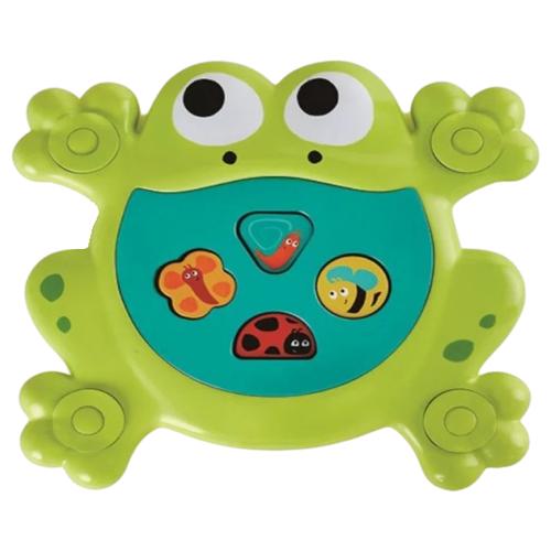 Купить Игрушка для ванной Hape Feed-Me Bath Frog (E0209) зеленый, Игрушки для ванной