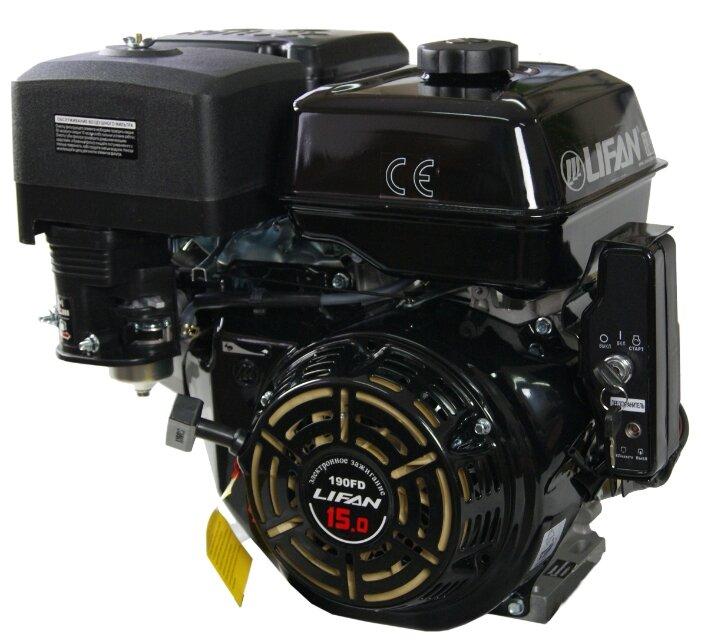 Бензиновый двигатель LIFAN 190FD D25