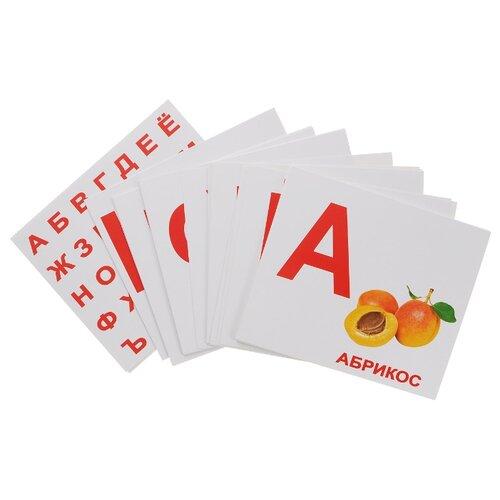 Набор карточек Вундеркинд с пелёнок Алфавит 19.5x16.5 см 34 шт. вундеркинд с пелёнок подарочный набор вундеркинд с пелёнок мегачемодан