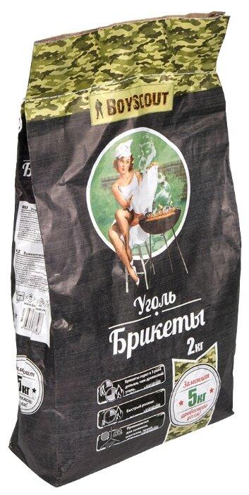 BOYSCOUT Уголь брикетированный, 2 кг