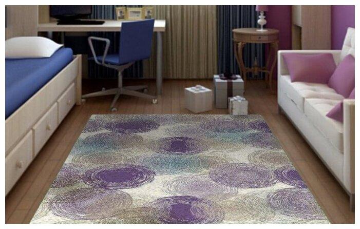Люберецкие ковры Ковер Соло 44014-26 1x2 м.