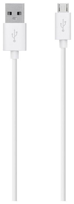 Кабель Belkin MIXIT USB - microUSB (F2CU012bt2M) 2 м white фото 1