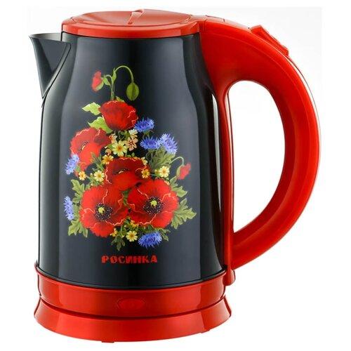 Чайник Росинка РОС-1013, красный росинка рос 501