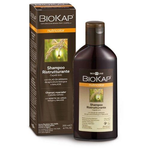 Купить BioKap шампунь Ristrutturante восстанавливающий для окрашенных волос, 200 мл