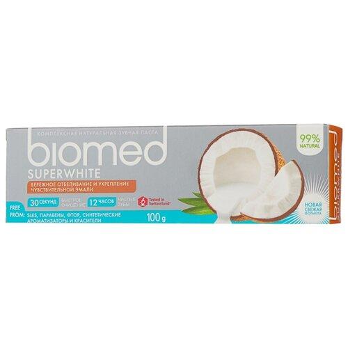 Зубная паста Biomed Superwhite, 100 г крем 3x15 мл biomed