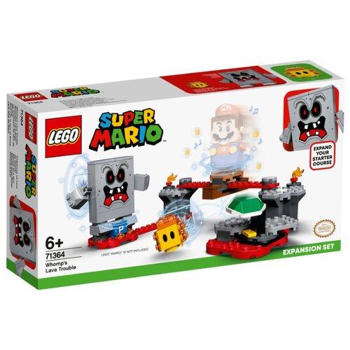 Купить Конструктор LEGO Super Mario 71364 Неприятности в крепости Вомпа, Конструкторы