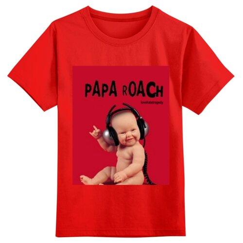 Купить Футболка Printio размер 2XS, красный, Футболки и майки