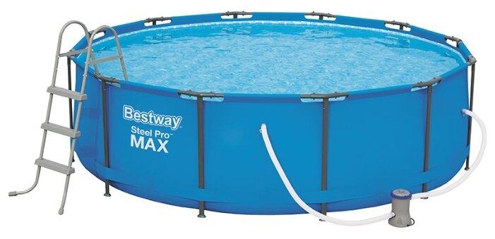 Бассейн каркасный Bestway Steel Pro MAX 366х122 см