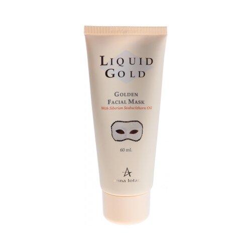 Фото - Anna Lotan Омолаживающая маска Golden Facial Mask, 60 мл anna lotan маска liquid gold golden facial mask золотая 250 мл