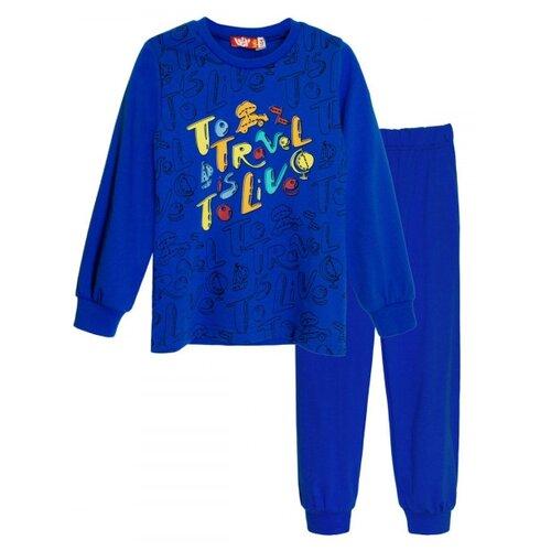 Пижама Let's Go размер 98, синий