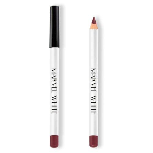 Купить Marvel Cosmetics White Карандаш для губ 421 PARIS (Розовое Вино)