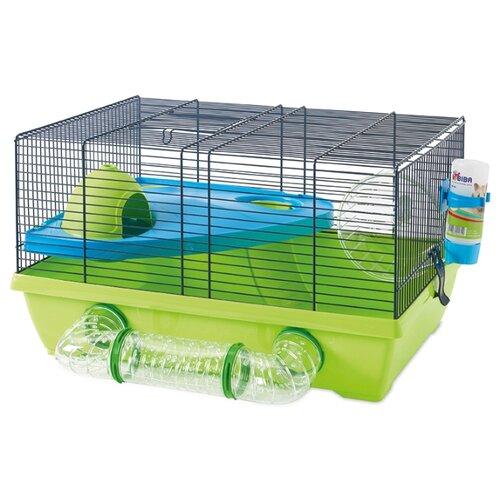 Клетка для грызунов SAVIC Izzy Metro 5064-5900 50х40х28 см зеленый переноска клетка savic dog residence для животных д 122 х ш 76 х в 88 см хром