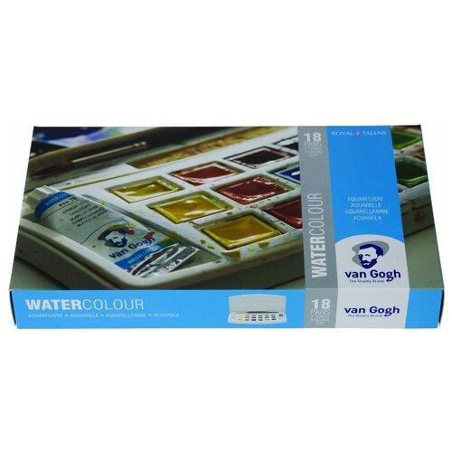 Van Gogh Акварельные краски Water colour 18 цветов (20808618) светильник nowodvorski van gogh led n9352