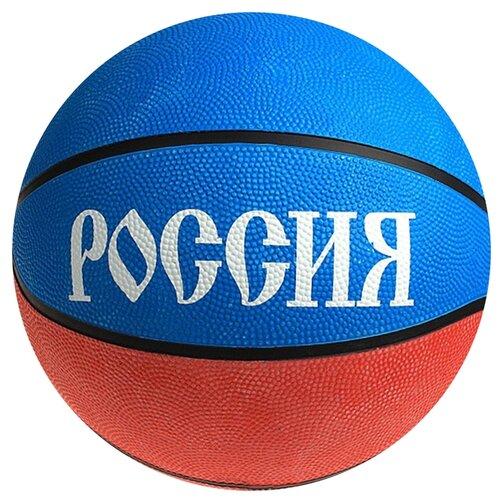 Баскетбольный мяч Onlitop Россия, р. 7 белый/синий/красный