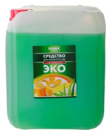 Domix Green Средство для мытья посуды С мятным маслом