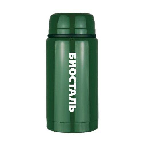 Фото - Термос для еды Biostal NTS-500, 0.5 л зеленый термосы biostal для еды с ложкой 0 5 л nts 500