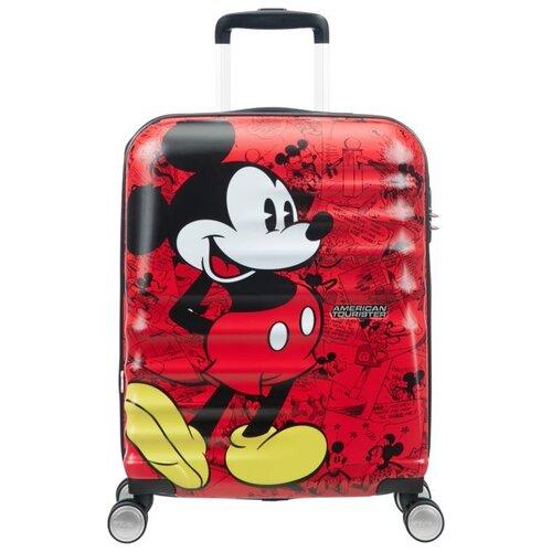 Чемодан American Tourister Wavebreaker Disney 36 л, Mickey Comics Red