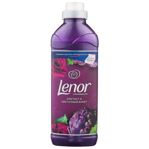 Lenor Концентрированный кондиционер для белья Аметист и цветочный букет, 0.93 л, флакон
