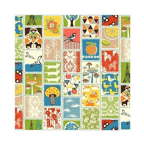Купить Ткань PePPY 4523 для пэчворка фасовка 50 x 55 см 135 г/кв.м 081, Ткани