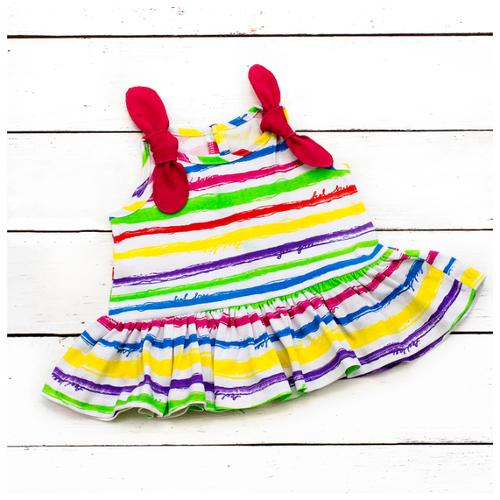 Платье АЛИСА размер 74, цветной