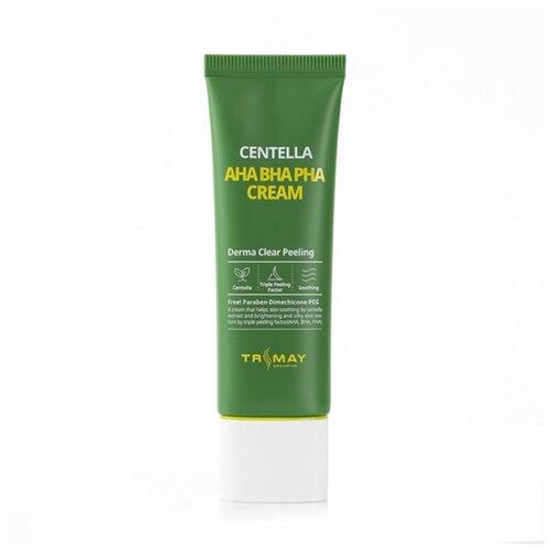Купить Trimay Centella Aha Bha Pha Cream Обновляющий крем для лица с кислотами и центеллой, 50 мл