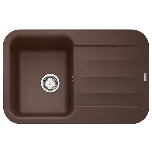 Врезная кухонная мойка 78 см FRANKE PBG 611-78 114.0297.239 шоколад врезная кухонная мойка 78 см franke pbg 611 78 114 0297 239 шоколад