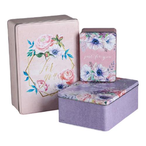Фото - Набор подарочных коробок Дарите счастье Just for you 3 шт. розовый/фиолетовый набор подарочных коробок дарите счастье нежность 3 шт розовый