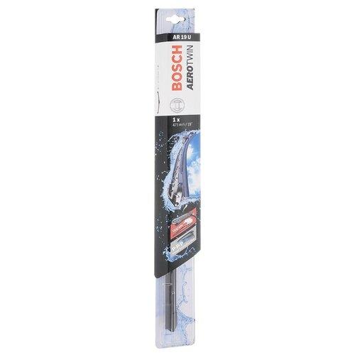 цена на Щетка стеклоочистителя бескаркасная Bosch Aerotwin AR19U 475 мм, 1 шт.