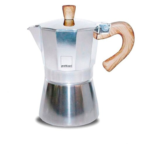Гейзерная кофеварка Gnali & Zani Venezia (6 чашек), серебристый