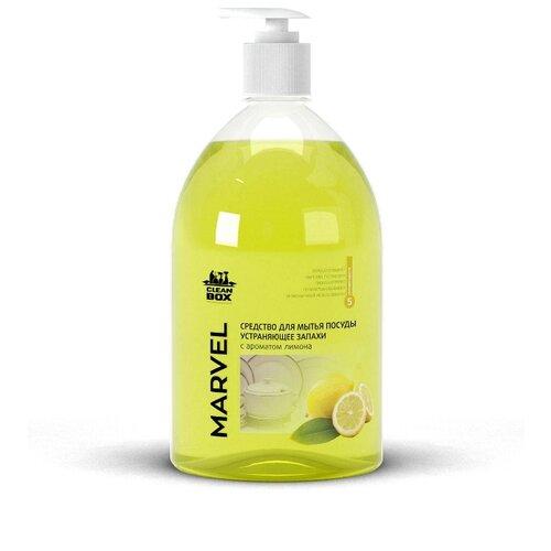 Clean Box Средство для мытья посуды Лимон, 1 л недорого