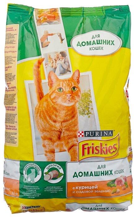 Купить Корм для кошек Friskies Speciality line для профилактики МКБ, с курицей 1.5 кг по низкой цене с доставкой из Яндекс.Маркета (бывший Беру)