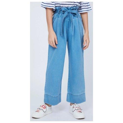 Брюки Zarina 9224422722D размер 122, голубой брюки coccodrillo размер 122 голубой