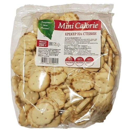 Крекеры Mini Calorie на стевии, 200 г