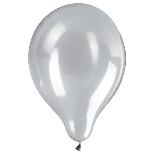 Набор воздушных шаров ZIPPY Металлик 25 см (50 шт.) серебряный