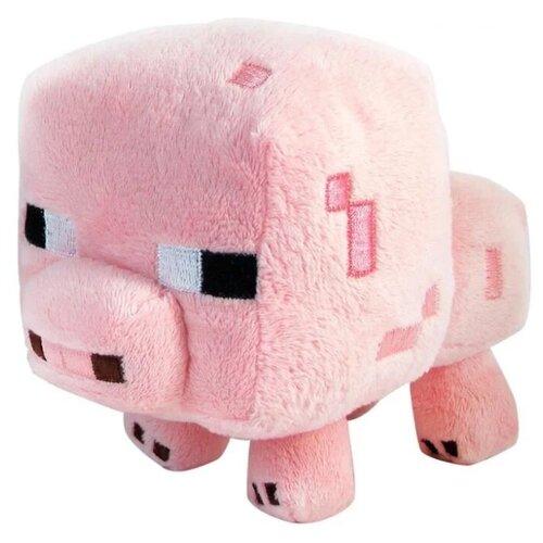 Купить Мягкая игрушка Поросенок из майнкрафт 16 см, MOJANG, Мягкие игрушки