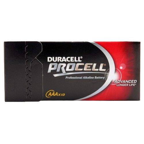 Фото - Батарейка Duracell Procell AAA/LR03, 10 шт. батарейка panasonic evolta aaa lr03 4 шт
