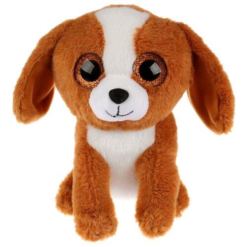 Купить Мягкая игрушка Мульти-Пульти Собачка бежевая 15 см, без чипа, Мягкие игрушки