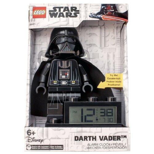9004049 Будильник LEGO Star Wars, минифигура Darth Vader ночники lego игрушка минифигура фонарь star wars штормтрупер