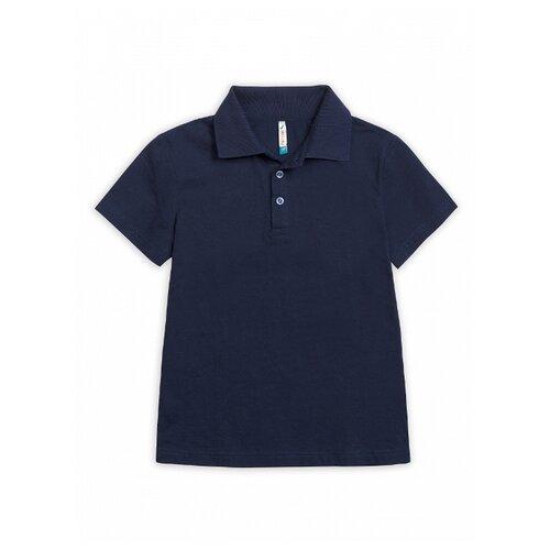 Купить Поло Pelican размер 7, синий, Футболки и майки