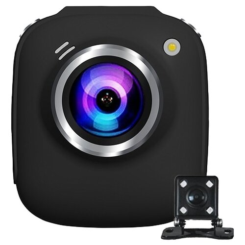 Видеорегистратор SHO-ME FHD-825, 2 камеры, черный