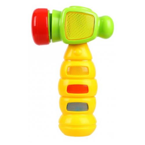 Купить Развивающая игрушка Жирафики Веселый молоточек желтый/зеленый, Развивающие игрушки