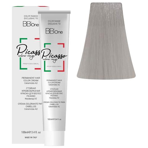 BB One Picasso Colour Range Перманентная крем-краска, 100 мл, 12.221 супер интенсивный пепельно-жемчужный блонд bb one picasso colour range перманентная крем краска 100 мл 8 0 интенсивный натуральный светлый блонд