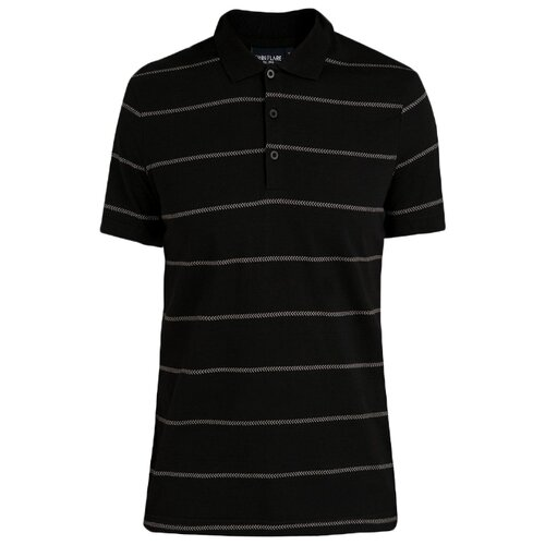 Поло FiNN FLARE B20-21043 размер L, черный (200) цена 2017