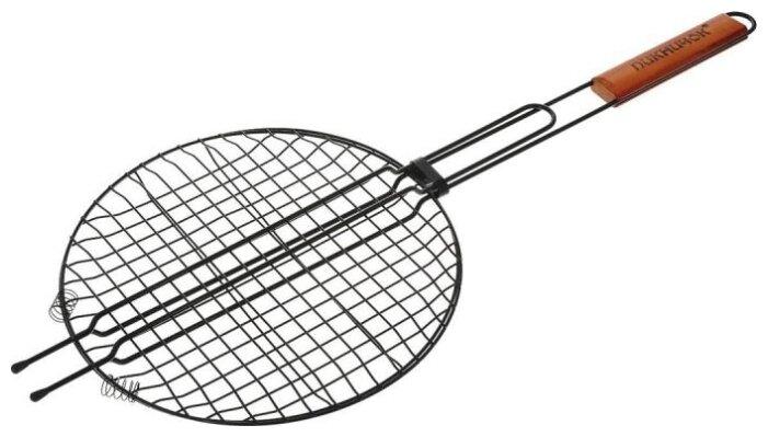 Решетка Пикничок Сицилийская 401-022 круглая с антипригарным покрытием, 30 см