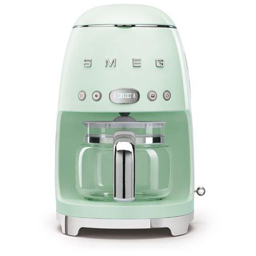 Кофеварка smeg DCF02 пастельный зеленый