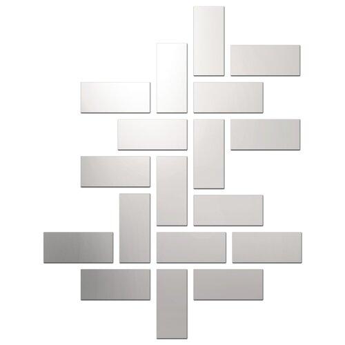 Комплект наклеек Ваша Светлость Слиток-18, зеркальные, многоразовые фото