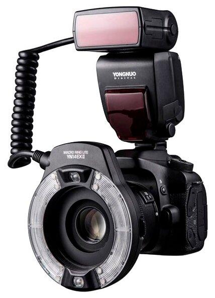 Вспышка Yongnuo YN-14EX II Macro TTL for Canon
